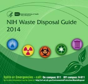 NIH Waste Disposal Guide 2014 Cover.jpg