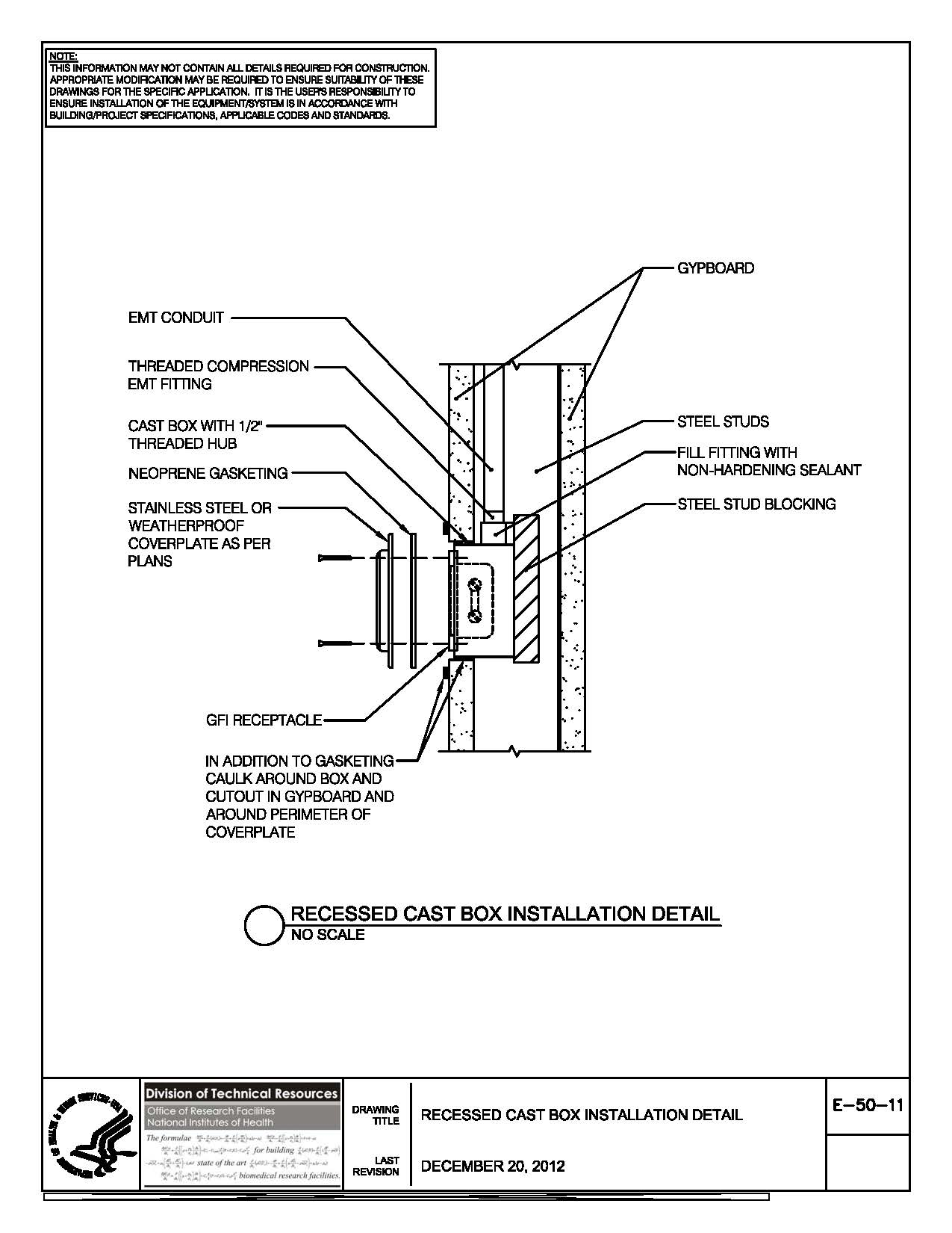 Electrical installation standards