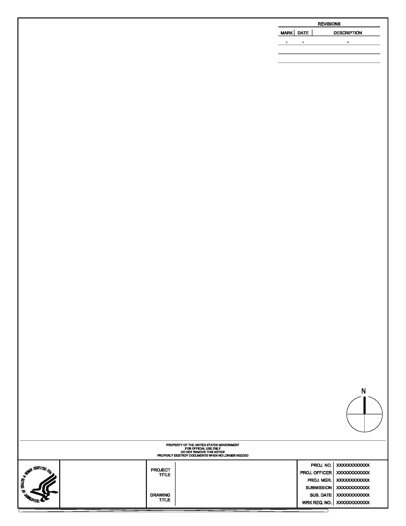 nih standard cad details Title Block Design